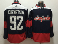 Mens Nhl Washington Capitals #92 Evgeny Kuznetsov Blue 2018 Stadium Series Pro Player Adidas Jersey