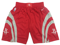 Mens Nba Houston Rockets Red Nike Shorts