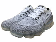 Women Nike Flyknit 2018 Airmax Running Shoes White And Grey Clour