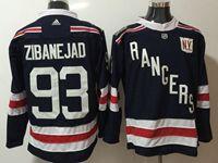 Mens Nhl New York Rangers #93 Mika Zibanejad Dark Blue 2018 Winter Classic Breakaway Adidas Jersey