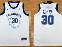 Mens Nba Golden State Warriors #30 Stephen Curry White Hardwood Classic Edition Swingman Jersey