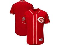Mens Mlb Cincinnati Reds Blank Majestic Red 2018 Spring Training Flex Base Team Jersey