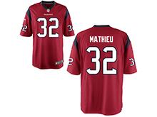 Mens Womens Youth Houston Texans #32 Tyrann Mathieu Red Nike Game Jersey