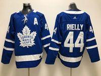 Mens Nhl Toronto Maple Leafs #44 Morgan Rielly Royal Blue Home Adidas Jersey