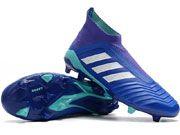 Adidas Predator 18 Fg Football Shoes Blue Colour