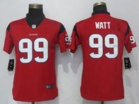 Women Nfl Houston Texans #99 Jj Watt Red Vapor Untouchable Elite Player Jersey
