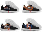 Men And Women Nfl Denver Broncos Roshe Style Lightweight Running Shoes Many Clour