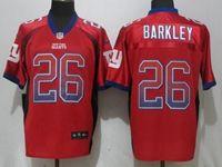 Mens Nfl New York Giants #26 Saquon Barkley Red Drift Fashion Elite Nike Jersey