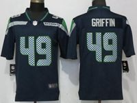 Mens Nfl Seattle Seahawks #49 Shaquem Griffin Navy Blue 2017 Vapor Untouchable Limited Player Jersey