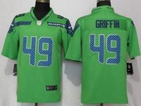 Mens Nfl Seattle Seahawks #49 Shaquem Griffin Green 2017 Vapor Untouchable Limited Player Jersey