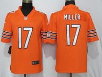 Mens Nfl Chicago Bears #17 Miller Orange Vapor Untouchable Limited Player Jersey