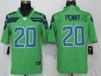 Mens Nfl Seattle Seahawks #20 Rashaad Penny Green 2017 Vapor Untouchable Limited Player Jersey