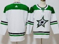 Mens Nhl Dallas Stars Blank Adidas White Jersey