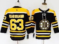 Youth Nhl Boston Bruins #63 Brad Marchand Black Home Adidas Jersey