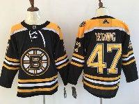 Mens Nhl Boston Bruins #47 Torey Krug Black Home Adidas Jersey