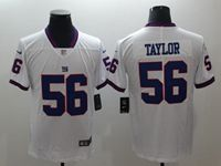 Mens New York Giants #56 Lawrence Taylor White Color Rush Limited Jersey