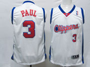 Mens Nba Los Angeles Clippers #3 Paul White (clippers) Swingman Jersey (m)