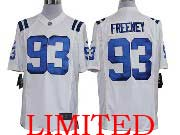 Mens Nfl Indianapolis Colts #93 Freeney White Limited Jersey