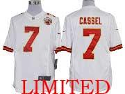 Mens Nfl Kansas City Chiefs #7 Cassel White Limited Jersey