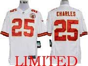 Mens Nfl Kansas City Chiefs #25 Charles White Limited Jersey