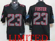 Mens Nfl Houston Texans #23 Foster Black Impact Limited Jersey