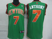 mens nba New York Knicks #7 Carmelo Anthony green jersey