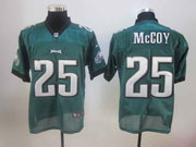 Mens Nfl Philadelphia Eagles #25 Mccoy Dark Green Elite Jersey