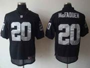Mens Nfl Las Vegas Raiders #20 Mcfadden Black Elite Jersey