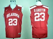 Mens Ncaa Nba Oklahoma Sooners #23 Red Basketball Jersey