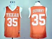Mens Ncaa Nba Texas Longhorns #35 Durant Orange Jersey Gz