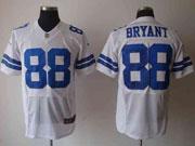 Mens Nfl Dallas Cowboys #88 Bryant White Elite Jersey