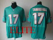 Mens Nfl Miami Dolphins #17 Tannehill Green Elite Jersey