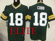 Mens Nfl Green Bay Packers #18 Cobb Green Elite Jersey