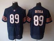Mens Nfl Chicago Bears #89 Ditka Blue Elite Jersey