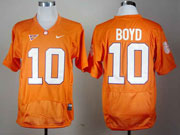 Mens Ncaa Nfl Clemson Tigers #10 Boyd Orange (2012) Jersey