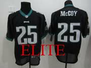 Mens Nfl Philadelphia Eagles #25 Mccoy Black Elite Jersey