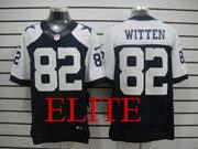 mens nfl Dallas Cowboys #82 Jason Witten blue thanksgiving elite jersey