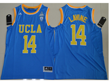 Mens Ncaa Nfl Ucla Bruins #14 Zach Lavine Blue Authentic Jersey