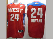 Mens Nba 2013 All Star Los Angeles Lakers #24 Bryant Red Jersey