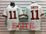 Mens Nfl Kansas City Chiefs #11 Smith White Elite 50th Jersey