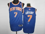 Mens NBA New York Knicks #1 STOUDEMIRE BLUE Revolution 30 MESH JERSEY (M)