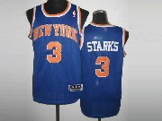 Mens Nba New York Knicks #3 Starks Blue Revolution 30 Mesh Jersey