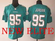 Mens Nfl Miami Dolphins #95 Jordan Green (2013 New) Elite Jersey