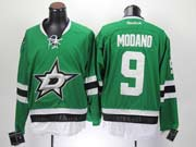 Mens reebok nhl dallas stars #9 modano green Jersey
