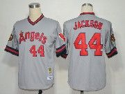 Mens Mlb Los Angeles Angels #44 Jackson Gray Throwbacks Jersey