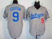 Mens Mlb Los Angeles Dodgers #9 Gordon Gray Jersey