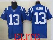 Mens Nfl Indianapolis Colts #13 Hilton Blue Elite Jersey
