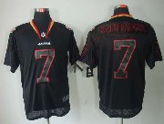 mens nfl San Francisco 49ers #7 Colin Kaepernick black (light out) elite jersey