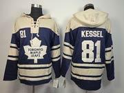 Mens nhl toronto maple leafs #81 kessel blue hoodie Jersey