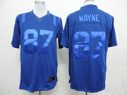 Mens Nfl Indianapolis Colts #87 Wayne Blue (wet Version) Limited Jersey
